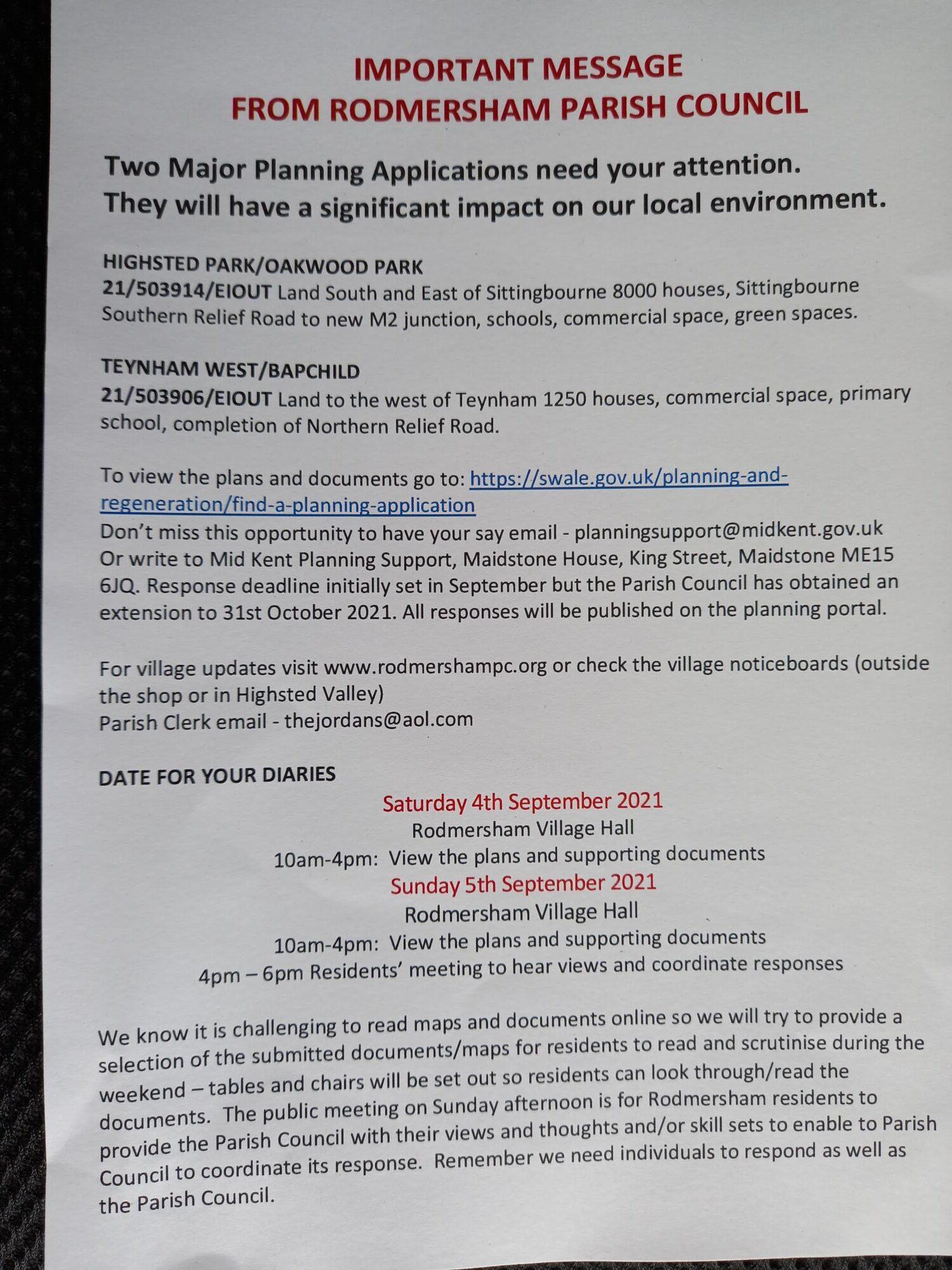 Highsted Park Developments, Sittingbourne